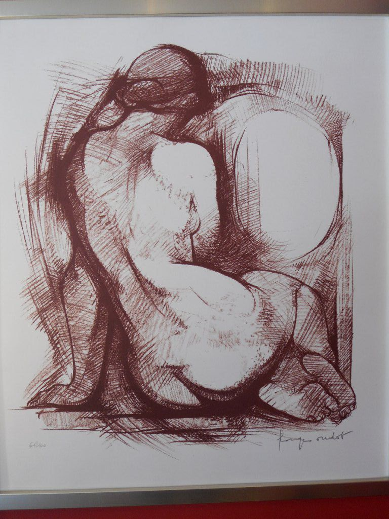 G OUDOT 1928/2004, lithographie 60/52